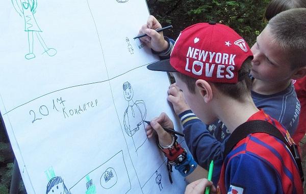 Діти у Борщові знають, що малюють