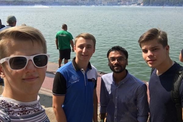 Студенти медуніверситету перевіряли водномоторників усього  світу на допінг