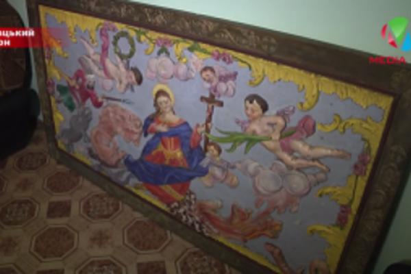 На Тернопільщині розшукали викрадену львівську ікону 18-го ст. (відео)