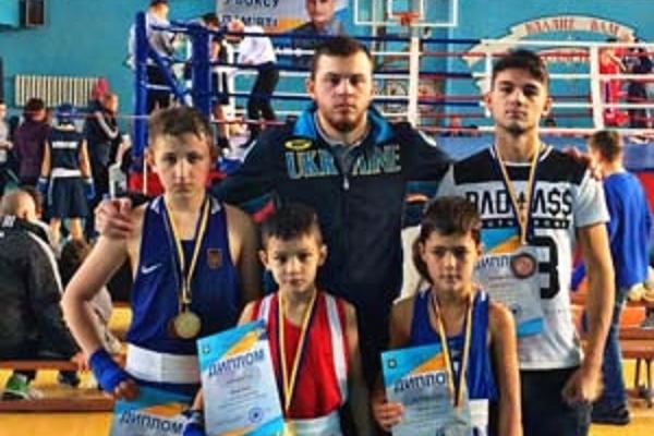 У юних тернопільських боксерів - дві золотих, одна срібна та одна бронзова медалі