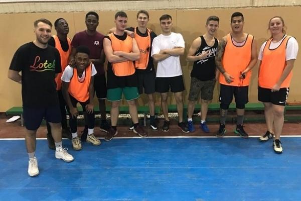 Студенти з Африки пограли у Тернополі в баскетбол