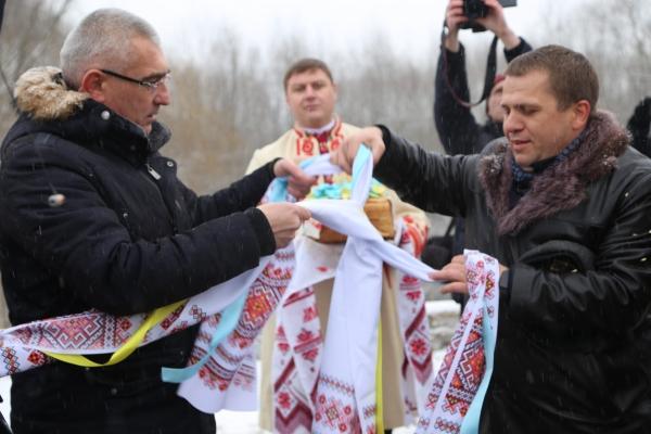 Організації Аграрної партії Тернопільщини та Хмельниччини побраталися на Збручі