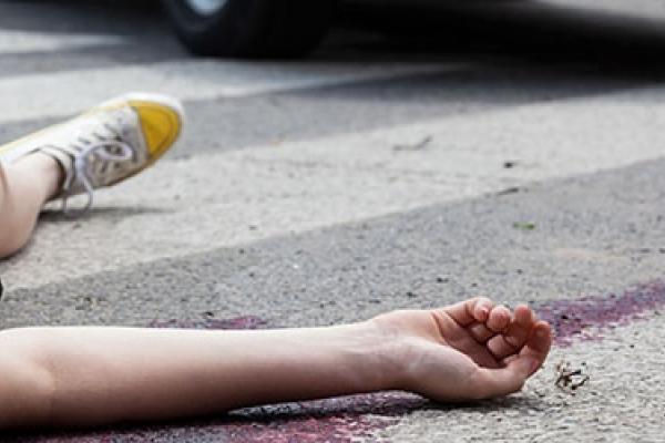 На Тернопільщині маршрутка збила молоду дівчину