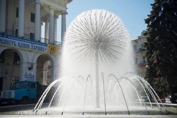 Тернопільські фонтани працюватимуть щодня
