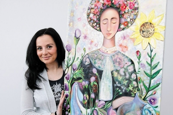 Картини тернопільської художниці зобразять на марках «Укрпошти»