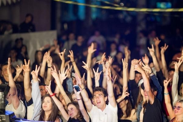 Вечірки під відкритим небом у Тернополі
