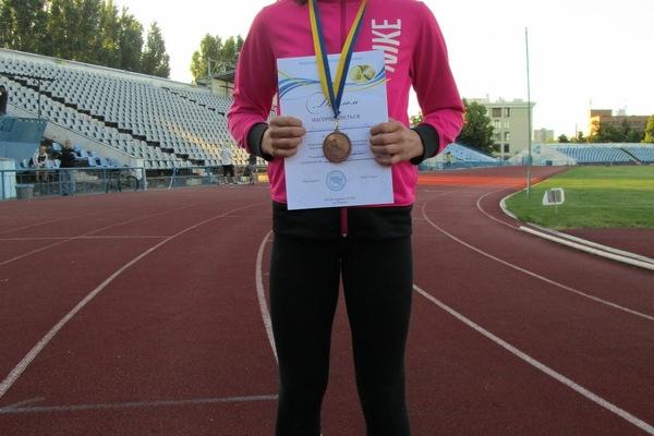 Школярка зі Зборова виграла бронзу Чемпіонату України