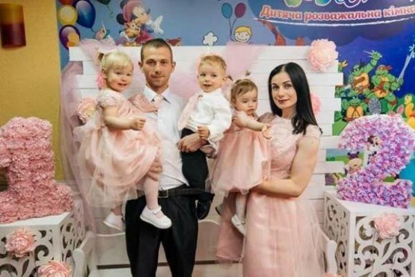 За два роки тернополянка народила трьох діток