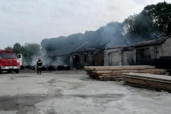 На Тернопільщині згоріло 30 тонн туалетного паперу