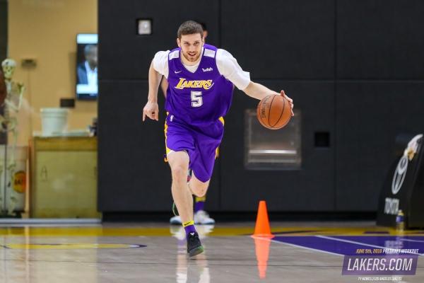 Український баскетболіст став гравцем «Лейкерс»