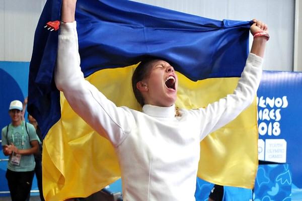 Українська шпажистка здобула золото на Юнацькій Олімпіаді