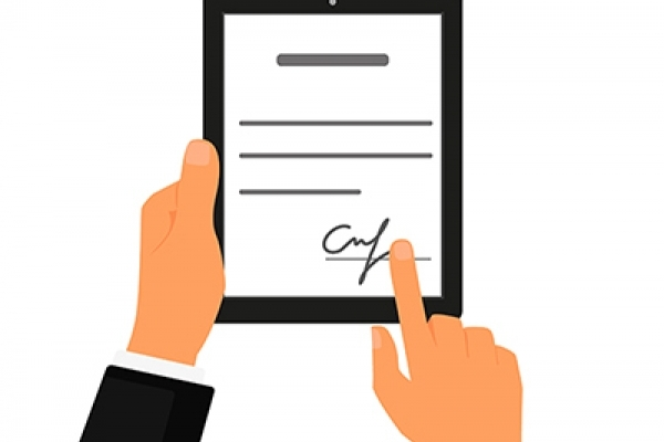 В Україні починає діяти електронний підпис