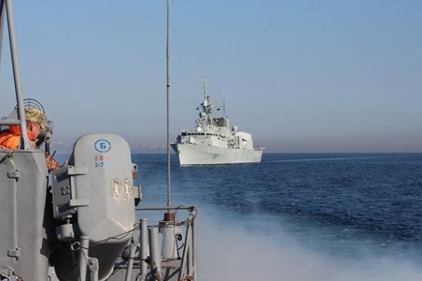 НАТО та Україна розпочали спільні навчання у Чорному морі