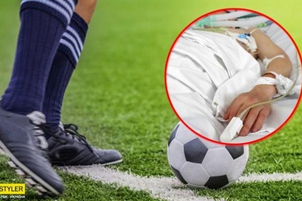 Помер 12-річний хлопець після гри у футбол: батьки звинувачують лікарів