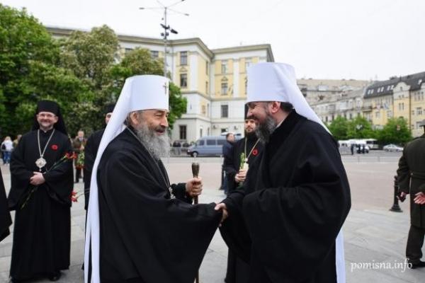 Очільник УПЦ МП Онуфрій зустрівся з предстоятелем ПЦУ Епіфанієм