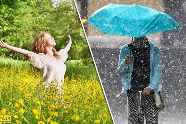 Грозові дощі і шквальний вітер: синоптик налякала прогнозом погоди на вихідні