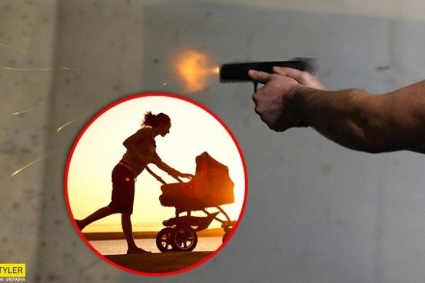 Екс-поліцейський влаштував стрілянину: мати з дитиною закрив собою перехожий