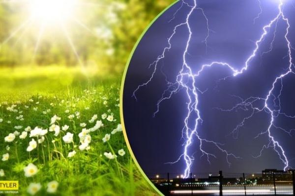 +34 і потужні грози: прогноз погоди шокував навіть синоптиків