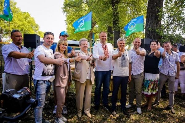 Лідер Аграрної партії Михайло Поплавський відвідав фестиваль «Відродження українського села»