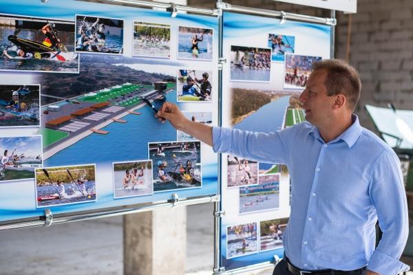Водна Арена «Тернопіль» - унікальний проект, аналогів якого в Україні немає