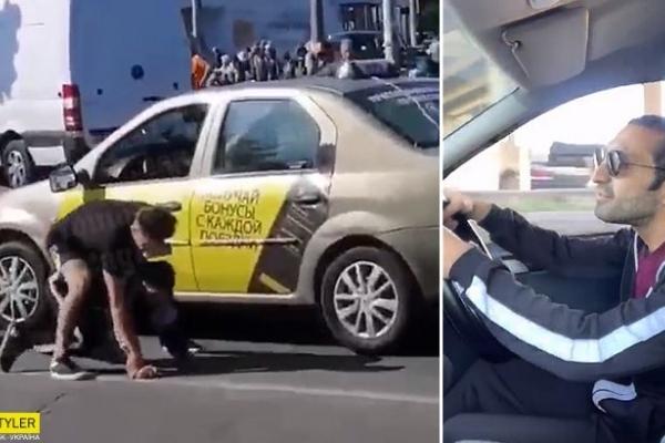 Я тебе зараз зламаю, сиди на ду*і рівно: бійка таксиста з пасажиром «порвала» мережу