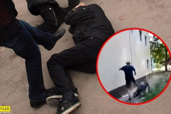 Підлітки жорстоко побили бездомного: нелюдів будуть судити (Відео)