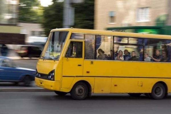 Не пропустив на переході дівчину: у водія тернопільської маршрутки патрульні забрали права (Відео)