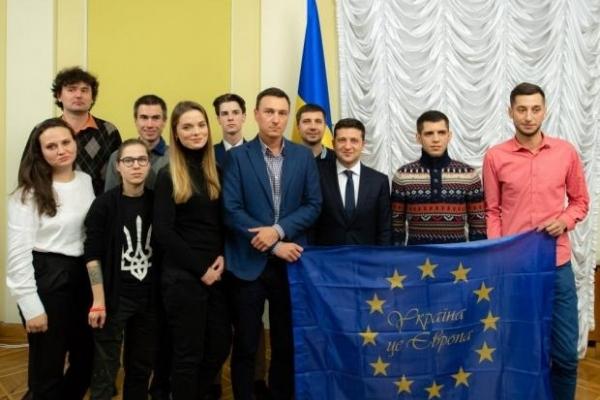 Зеленський зустрівся зі студентами, які дали старт Євромайдану