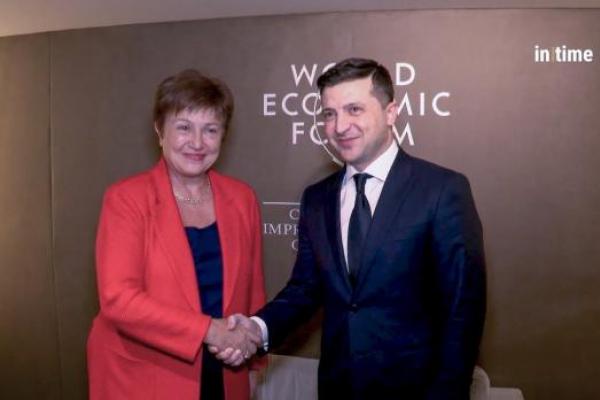 Зеленський провів переговори з главою МВФ: Україна отримає новий кредит