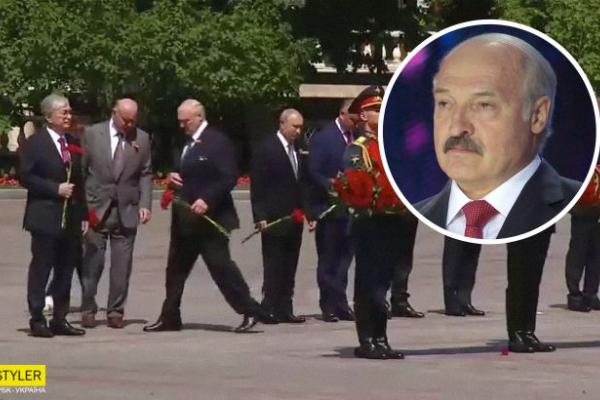 Лукашенко принизив Путіна на параді в Москві: з'явилося відео