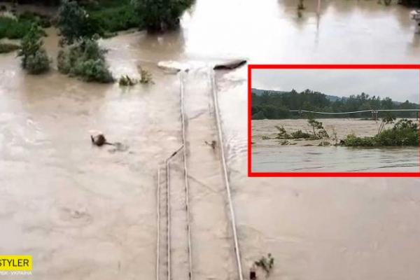 У Чернівцях річка Прут виходить з берегів: села регіону можуть піти під воду (Фото)