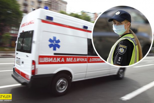 П'яна дівчина побила ногами патрульну: деталі скандалу